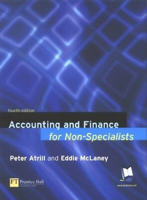 (Good)-Accounting and Finance for Non-specialists (Paperback)-Dr Peter Atrill, E