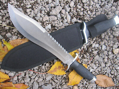 MP9 Gürtelmesser Machete Säge Outdoor Angler Messer Knife Edelstahlklinge