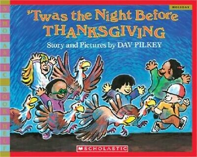 'Twas the Night Before Thanksgiving (Paperback or Softback)