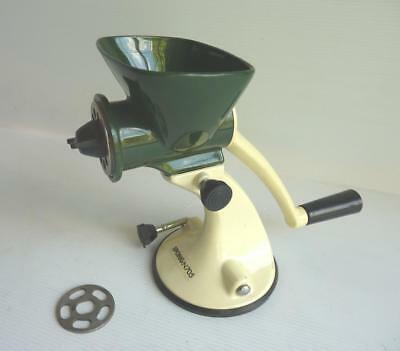 SPONG N705 Mincer for Meat & Vegetables, 3 Cutters, Suction Base