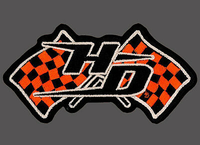 HARLEY DAVIDSON Harley Nation Racing Flags  PATCH