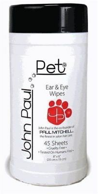 John Paul Pet - Dog & Cat Ear & Eye Wipes