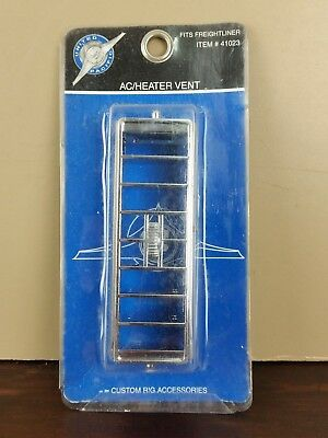 Truck Replacement AC Heater Vent Chrome Parts Freightliner Accessories Semi Rig
