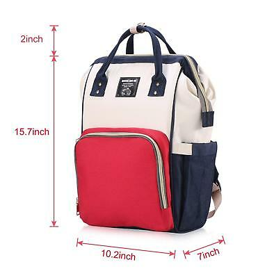 Diaper Bag Mommy Maternity Nappy Bags Large Capacity Baby Travel Backpack