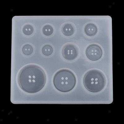 Silicone Mold DIY Jewelry Making Mould Resin Cabochon Bead Button DIY Tools