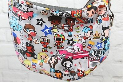Tokidoki Messenger Shoulder Bag Purse Euc