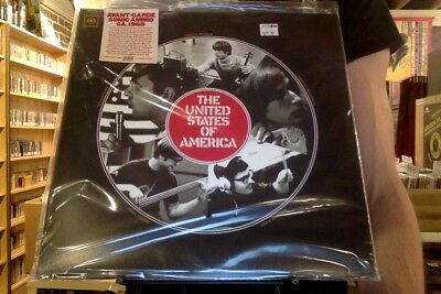 The United States of America s/t LP sealed colored vinyl mono RSD Black Friday