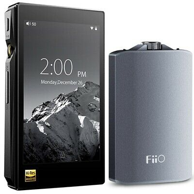 FiiO X5-III High Resolution Lossless Music Player (Black) w/ A3 Amplifier Bundle