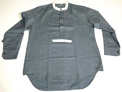 Wwi British Greyback Flannel Service Shirt-Large