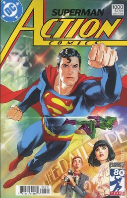 Action Comics (3rd Series) #1000 2018 Middleton 1980s FN 6.0 Stock Image