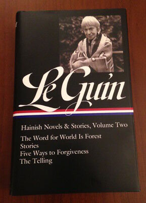 SIGNED Ursula Le Guin HAINISH NOVELS & STORIES VOL 2 Library of America 1st/1st!