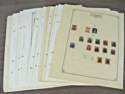 POLAND, Excellent Stamp Collection hinged on pages