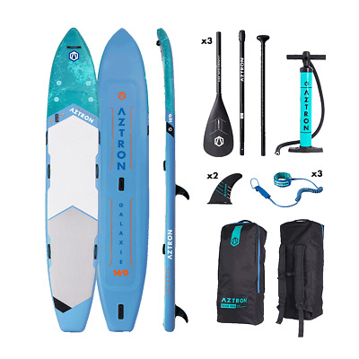 Aztron GALAXIE 16' MULTI-PERSON Inflatable SUP Stand Up Paddleboard Package