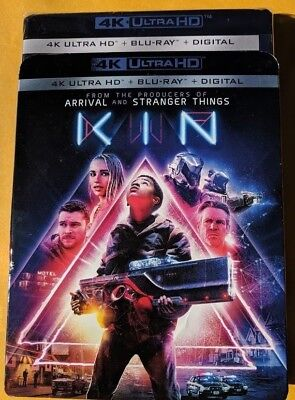 New Kin 2018 4k ULTRA HD & Blu-ray NO DIGITAL BLUERAY Action/Sci-Fi movie