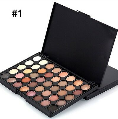 40 Colour Eye Shadow Makeup Cosmetic Shimmer Matte Eyeshadow Palette Set J&S