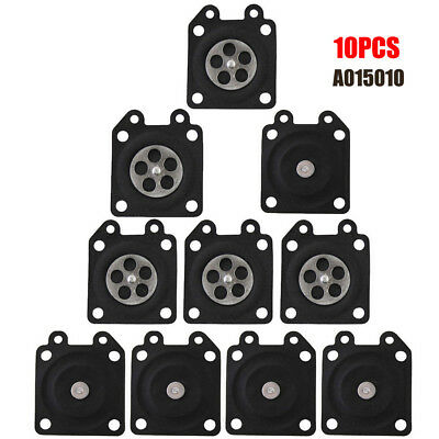 10pcs/set Metering Diaphragm Gasket C1U Replace Carburetor Carb A015010 New