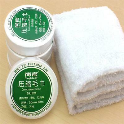 Face Bath Towels Magic Camping Travel Disposable Wash Drying Compressed YO