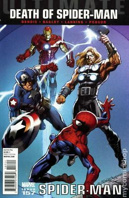 Ultimate Spider-Man (2nd Series) #157A 2011 Bagley Variant VF Stock Image