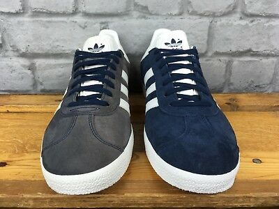Adidas Mens Ink Navy Blue   White Suede Gazelle Og Trainers Bb5478 Many  Sizes 5b07a22cd