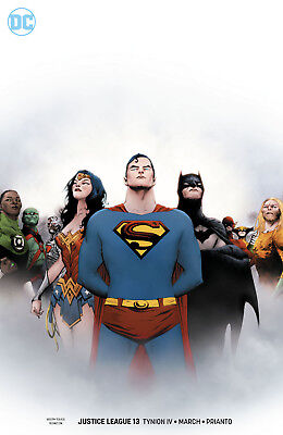 JUSTICE LEAGUE (2018) #13 - Variant Cover - New Bagged