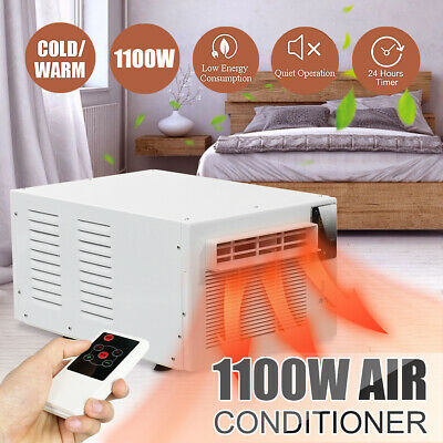 1100W Window Wall Box Refrigerated Air Conditioner Cooling Heating Timing Light
