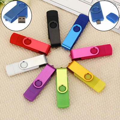 OTG USB Flash Drive 16GB 32GB 64MB USB 2.0 for Android Devices/PC/Tablet/Mac lot