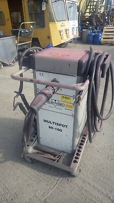 Multispot MI-100 spot welder 3 phase + gun  Fully working SAME DAY DISPATCH