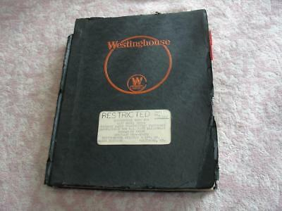 Westinghouse Instruction book for Navy TBW-4 Portable radio transmitter