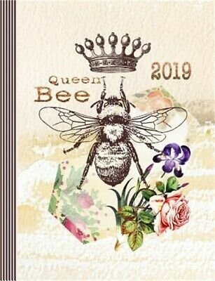 2019 Queen Bee: Weekly Planner - Large Calendar Schedule Organizer for Girls and