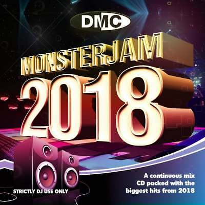 Monsterjam 2018 Continuous Mix DJ Double CDs 83 Chart Topping Tracks 2 Megamixes