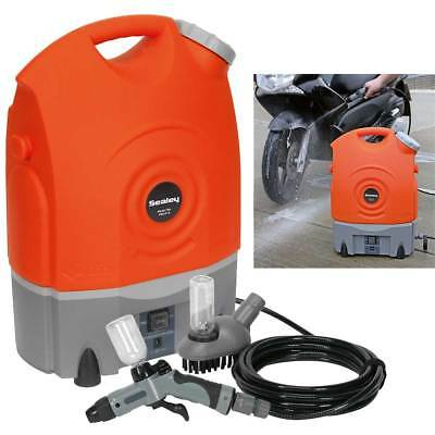 Sealey Pressure Washer PW1712 12V Rechargeable 6.8kg 17ltr Water Tank Car Bike