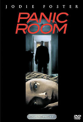 Panic Room (DVD, 2006, Superbit) Jodie Foster & Forest Whitaker!