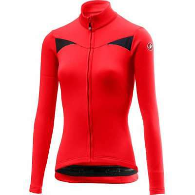 Castelli 2018 19 Women s Sinergia Full Zip Long Sleeve Cycling Jersey -  A18545 3148957a6