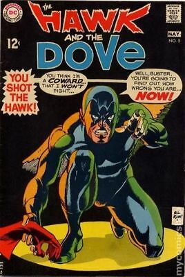 Hawk and Dove (1st Series) #5 1969 GD/VG 3.0 Stock Image Low Grade