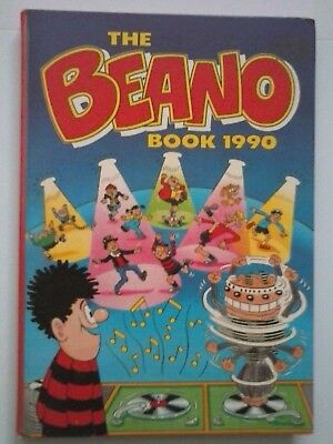 The Beano Book 1990  Annual -  Unclipped