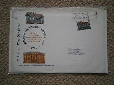 European Architectural Heritage 1975  First Day of Issue First Day Cover 1975