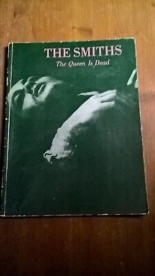 The Smiths - Sheet Music Book - The Queen Is Dead - Year 1986