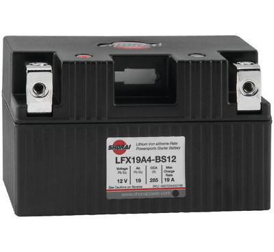 "Lithium Ion MC/ATV Battery - 12V 285CCA Sho. LFX19A4-BS12 5.83"" X 3.39"" X 3.46"""