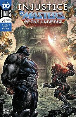 DC Injustice Vs. The Masters of The Universe #5 of 6 Comic Book