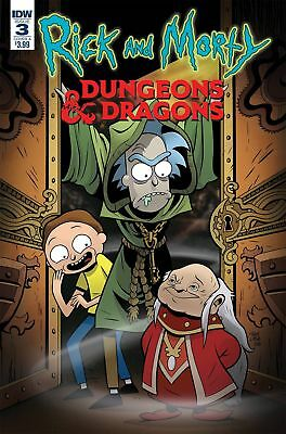 IDW Rick & Morty Vs. Dungeons & Dragons #3 Comic Book