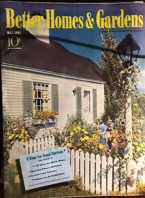 May 1941 issue of The Better Homes & Gardens  Magazine