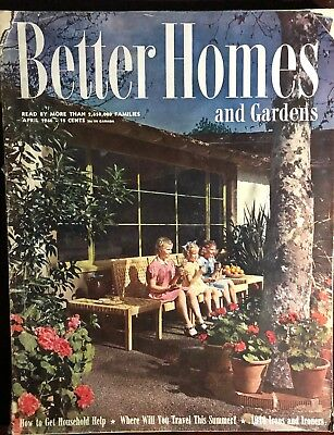 April 1946 issue of The Better Homes & Gardens  Magazine