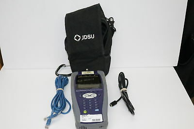 JDSU - SC-HOME-ATT1 - MULTIMETER TOOL v2 6 1 w/ Case, Cat 5 and Coaxial  TESTED!