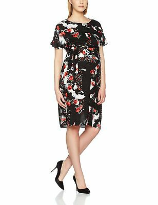 New Look Maternity Bonnie Mix and Match Belted, Vestito Donna, Red (Red Pat JluY