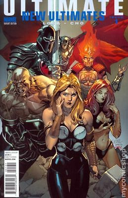 Ultimate New Ultimates (Marvel) 1B 2010 VF Stock Image
