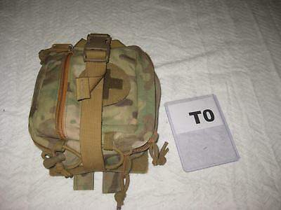 Raptor Tactical Multicam Medical Molle Pouch Bag Used T0