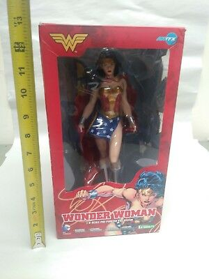 Kotobukiya Bishoujo DC Comics WONDER WOMAN 1/6 PVC Figure Statue IN BOX ARTFX