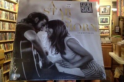 A Star Is Born soundtrack 2xLP sealed vinyl OST Lady Gaga Bradley Cooper