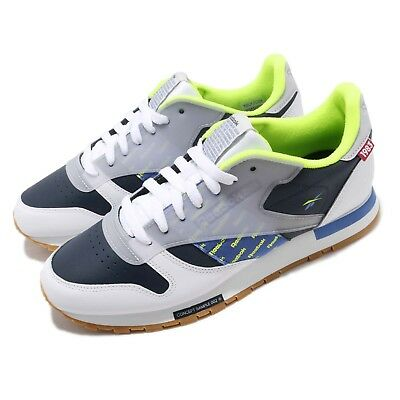 c90cc72cd3d Reebok Classic Leather Altered ATI White Navy Lime Grey Gum Men Shoes DV5241