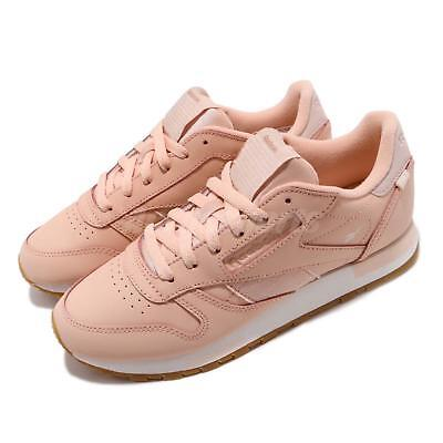 ce1075e58454 Reebok Classic Leather Altered Rose Cloud Gold Gum Women Shoes Sneaker  DV5236
